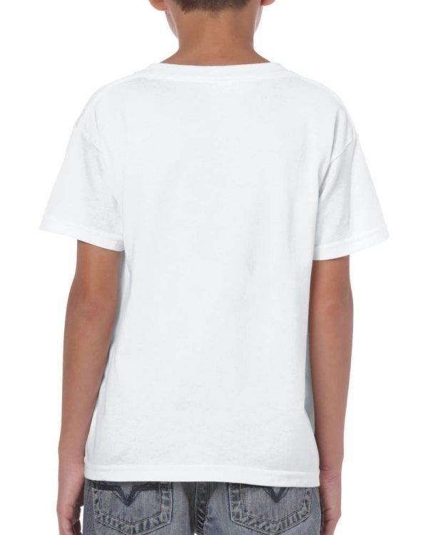 Boys white T shirt