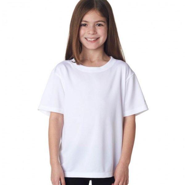 Girls white T shirt
